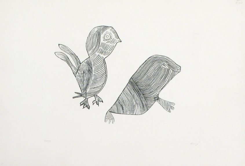 UNTITLED (BIRD AND SEAL)