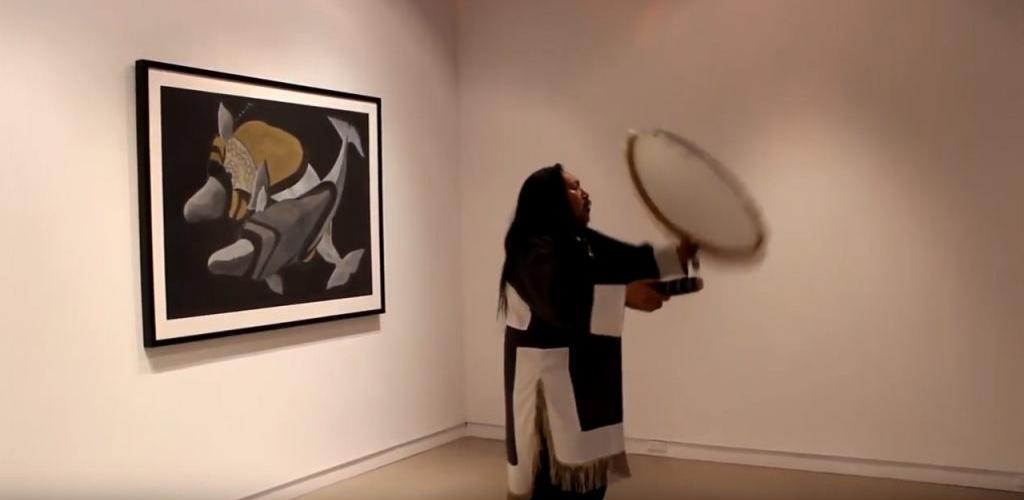 "Featured image for ""Mathew Nuqingaq drum dancing"""