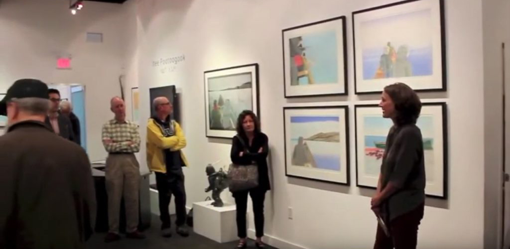 """Featured image for """"Sarah Milroy talks about """"Itee's Kinngait"""" Exhibit"""""""