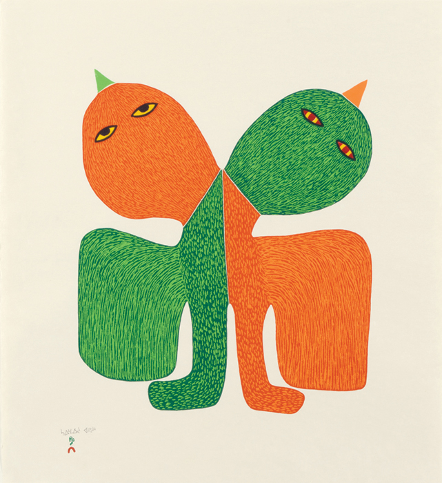 """Featured image for """"Cape Dorset print release at Feheley: """"The Hand of the Artist"""""""""""