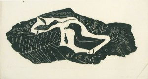 UNTITLED (BIRDS WITH FISH)