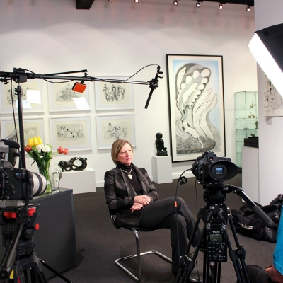 Interview at Feheley Fine Arts, 2014