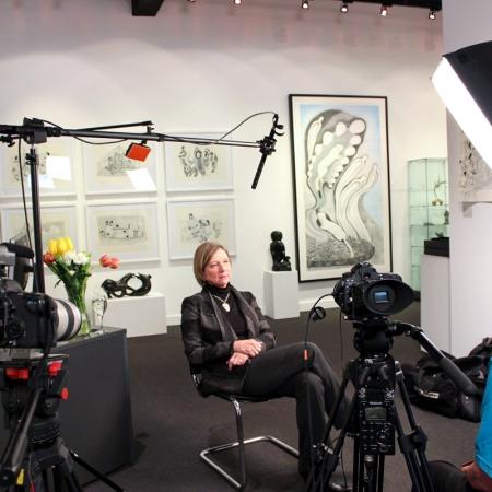 Interview at Feheley Fine Arts, 2014
