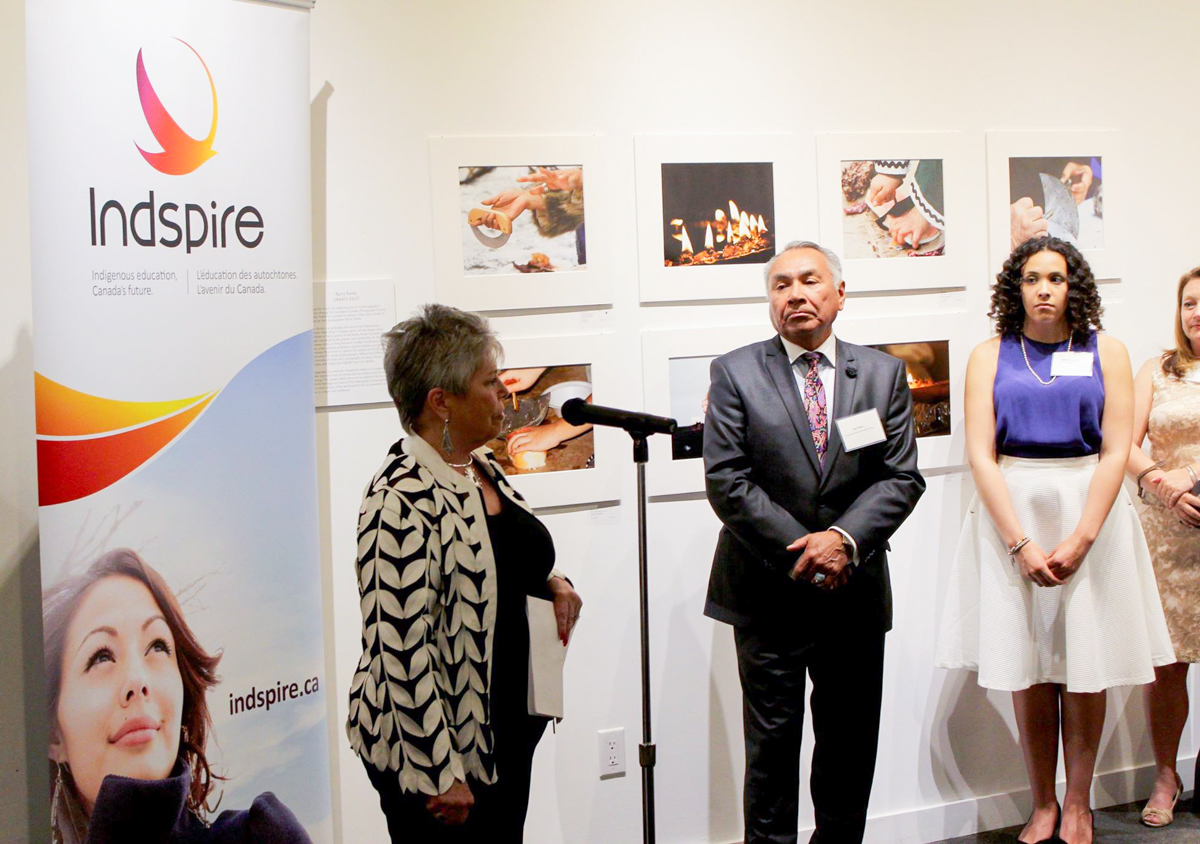 Indspire reception held at Feheley Fine Arts