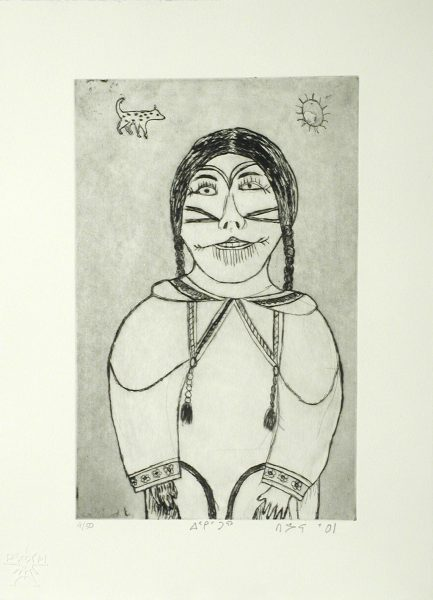 UNTITLED (FEMALE FIGURE UNDER SUN)