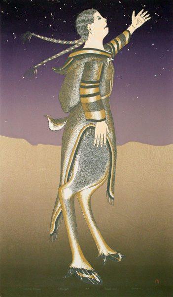 CARIBOU WOMAN