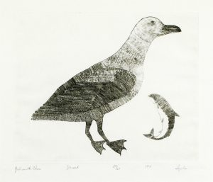 GULL WITH CHAR