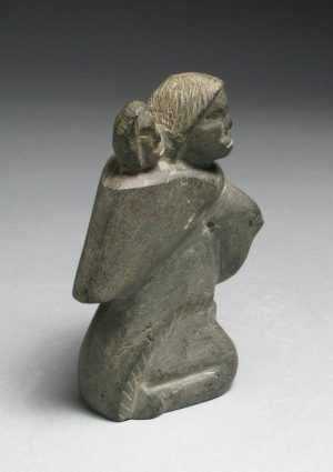 KNEELING MOTHER AND CHILD
