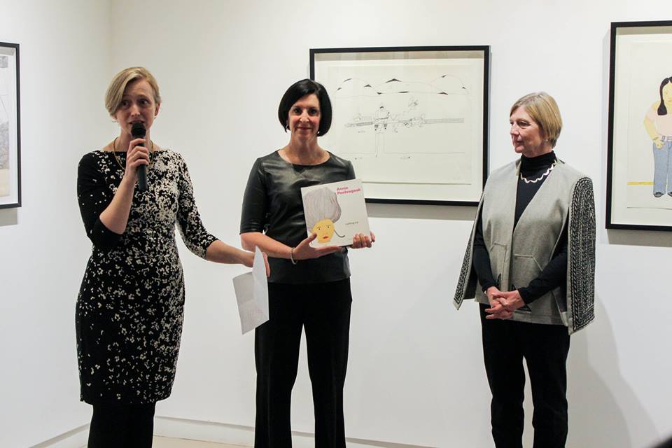 """Featured image for """"Annie Pootoogook: Cutting Ice – Book Launch"""""""
