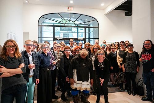 "Featured image for ""Opening reception: Mathew Nuqingaq – Masquerade"""