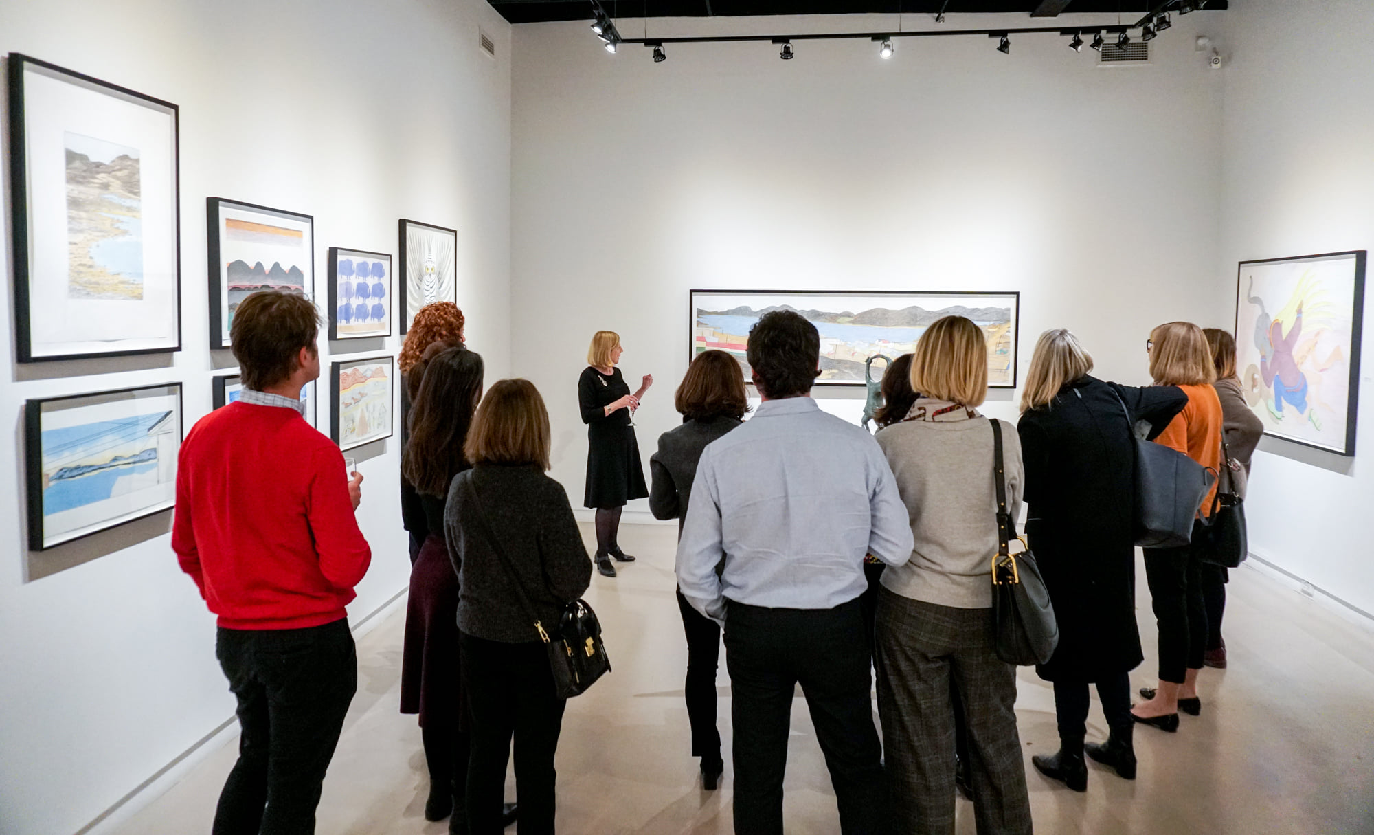 """Featured image for """"Toronto Biennial Patrons Learn About 60 Years of Cape Dorset Printmaking"""""""