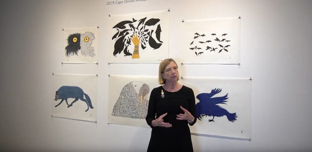 """Featured image for """"Celebrating sixty years of printmaking in Cape Dorset"""""""