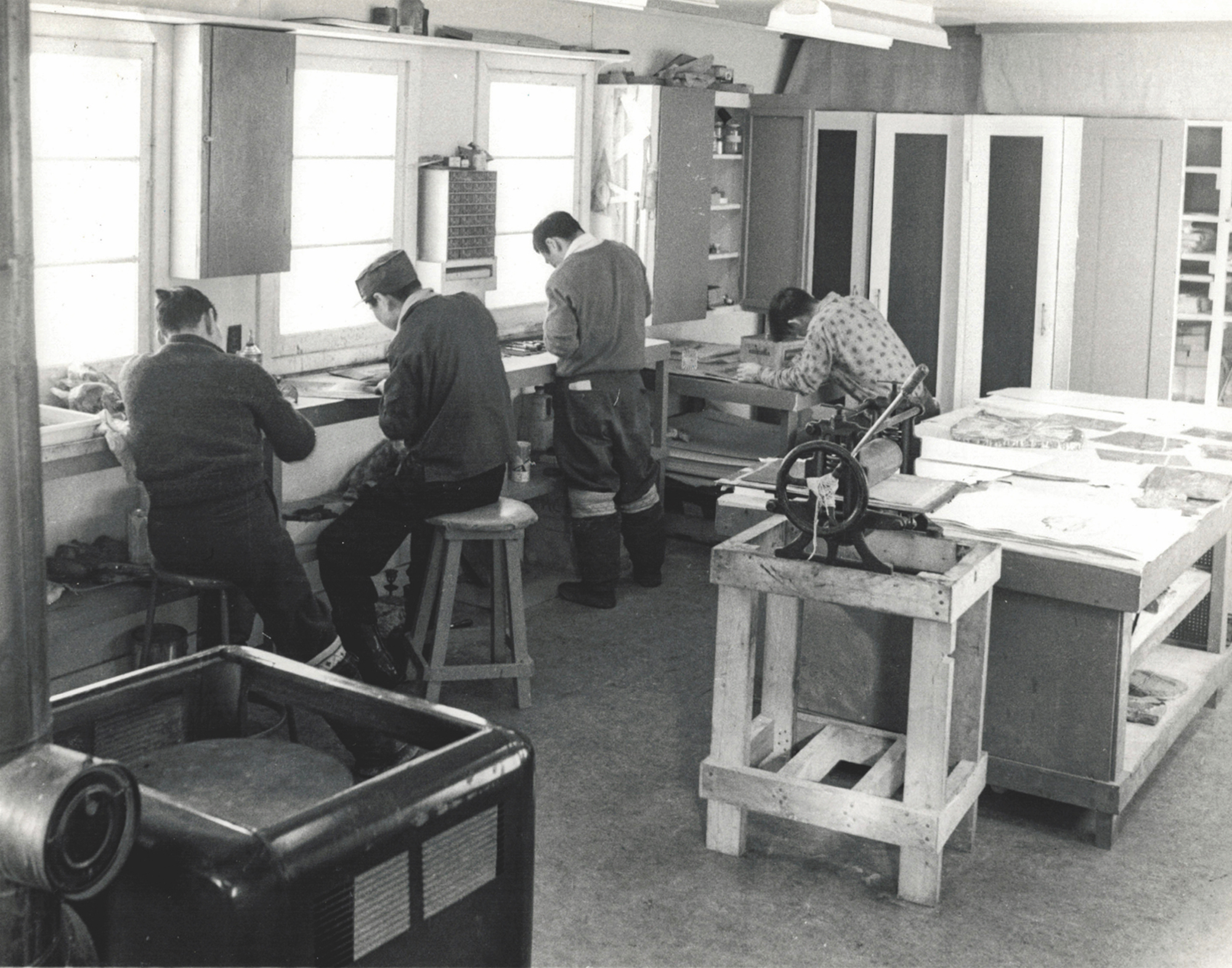 """Featured image for """"A Brief History of Kinngait Printmaking"""""""