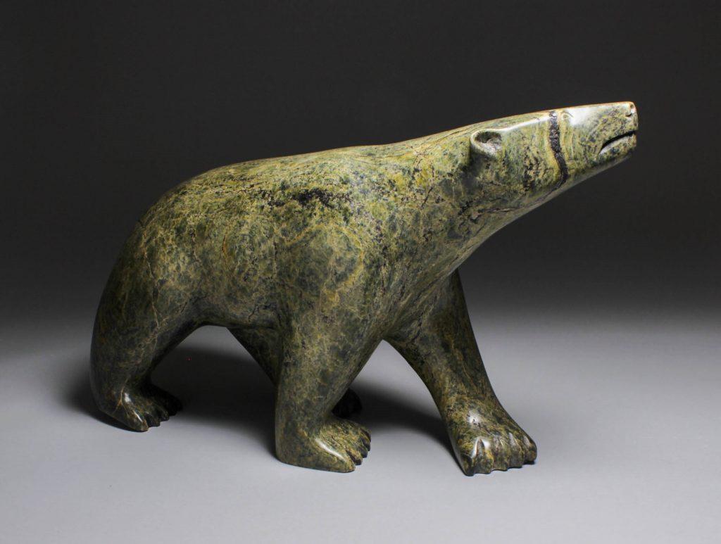 Bear Inuit Art Ejesiak Peter